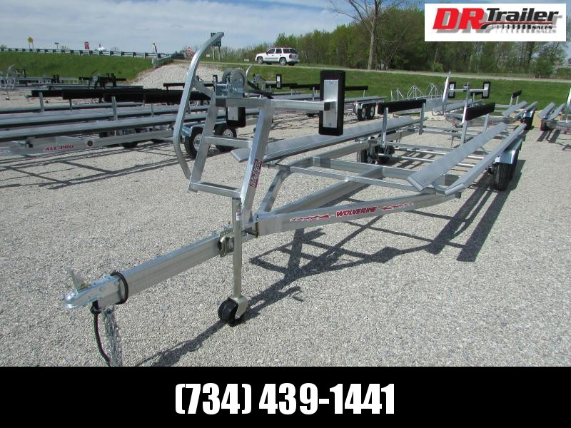 Wolverine Trailers All Pro 26 ft Bunk Style Pontoon Boat Trailer
