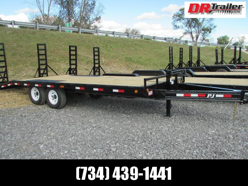 PJ Trailers 20 Deckover Equipment Trailer