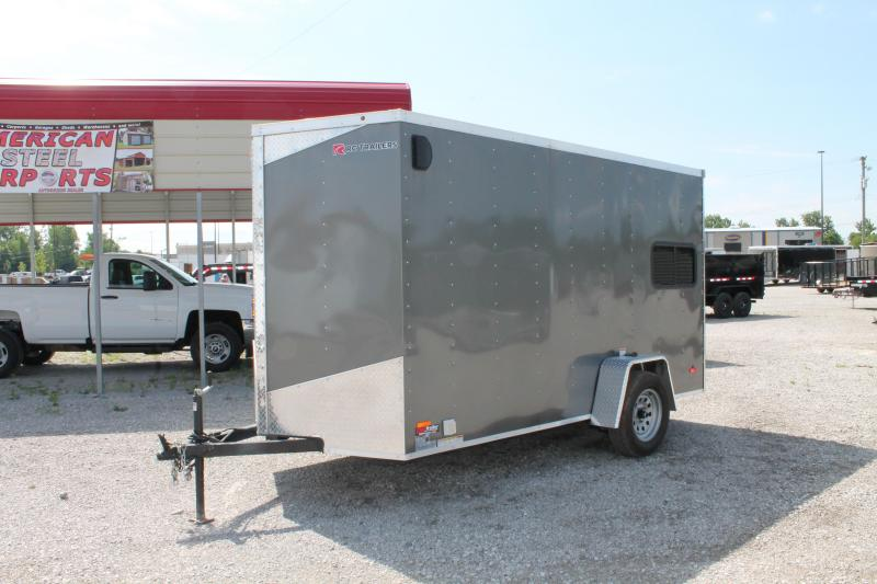 "2020 RC Trailers 6' X 12' + 6"" RD Enclosed Cargo Trailer"