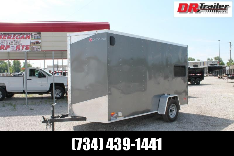 """2020 RC Trailers 6' X 12' + 6"""" RD Enclosed Cargo Trailer"""