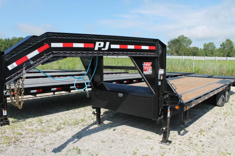2021 PJ Trailers 25' 15K MR Flatbed Trailer