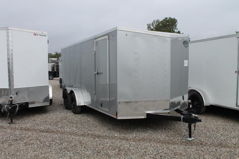 2022 Impact Trailers 7' X 16' R ENCLOSED TRAILER Enclosed Cargo Trailer