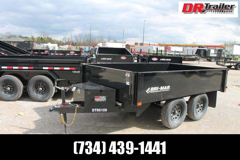 2021 Bri-Mar 6' X 10' DO DUMP TRAILER Dump Trailer
