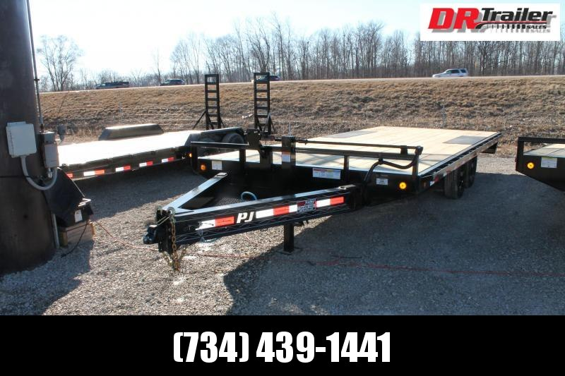 2021 PJ Trailers 20' DO 14K Flatbed Trailer