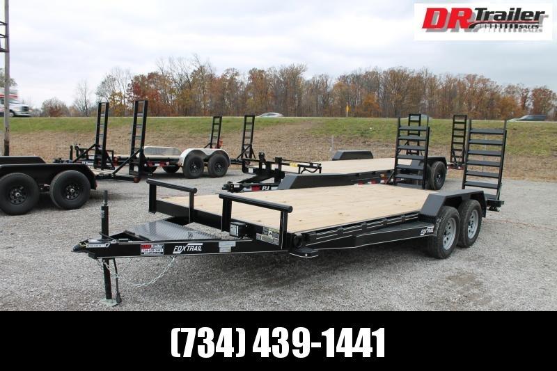 2021 DooLitttle Trailers 18' FR 7K Equipment Trailer