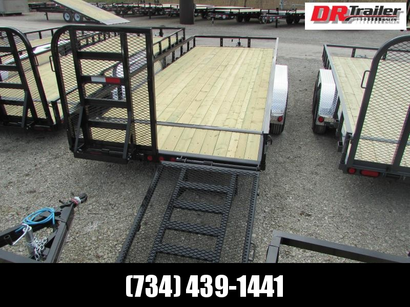 PJ Trailers 20 ft Landscape Commercial Grade Flatbed Trailer