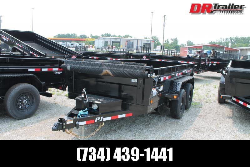 2022 PJ Trailers 12' D3 10K GVWR DUMP TRAILER Dump Trailer