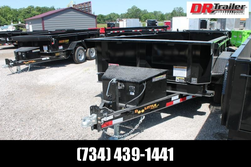 2021 DooLitttle Trailers 6' X 12' 7K GVWR DUMP TRAILER Dump Trailer