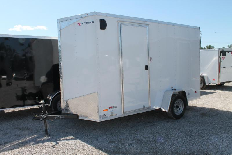 2020 RC Trailers 6' X 12' CONCESSION Enclosed Cargo Trailer