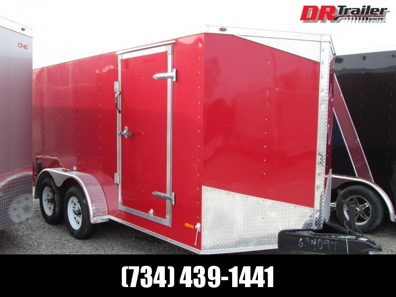 RC Trailers 7 X 14 Ramp Enclosed Cargo Trailer
