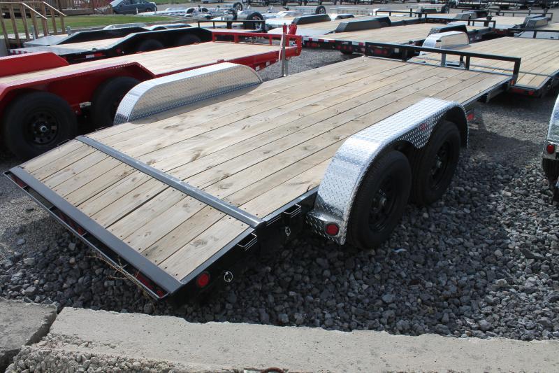 2022 PJ Trailers 16' SR 7K GVWR CAR HAULER Car / Racing Trailer