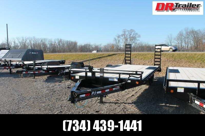 2021 PJ Trailers 22' DO 14K Equipment Trailer