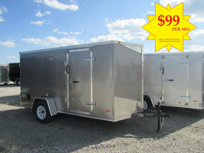 RC Trailers RWT6X12SA Enclosed Cargo Trailer **Best Deals @ DR Trailer