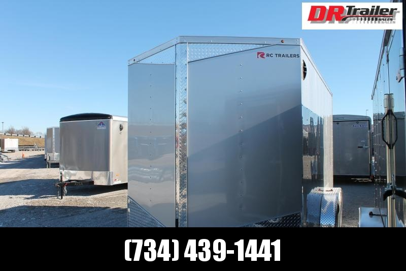 "2021 RC Trailers 7' X 14' + 12"" RDKX Enclosed Cargo Trailer"