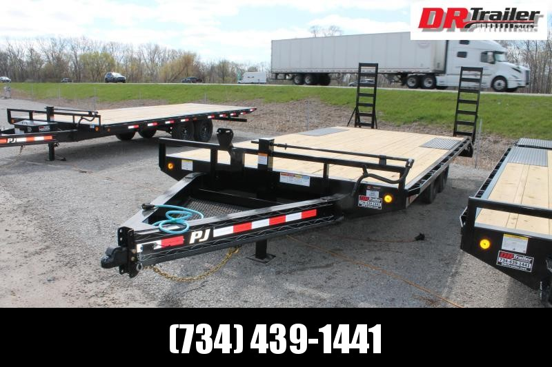 2021 PJ Trailers 20' DO 14K TRAILER Flatbed Trailer