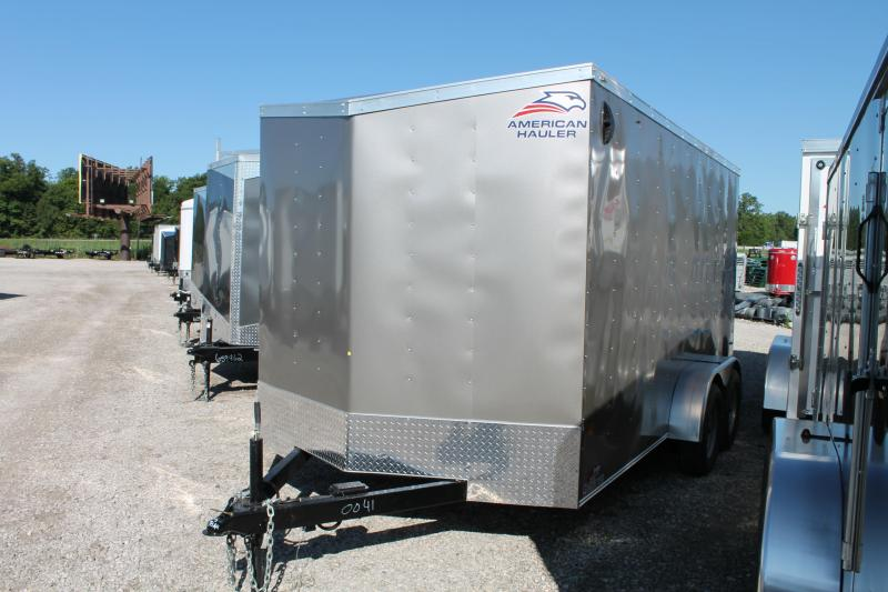 2021 American Hauler 7' X 14' TA RD Enclosed Cargo Trailer
