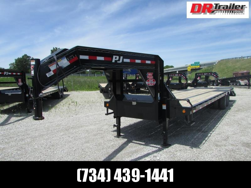 PJ Trailers 32 FT Low Pro Flatbed Trailer