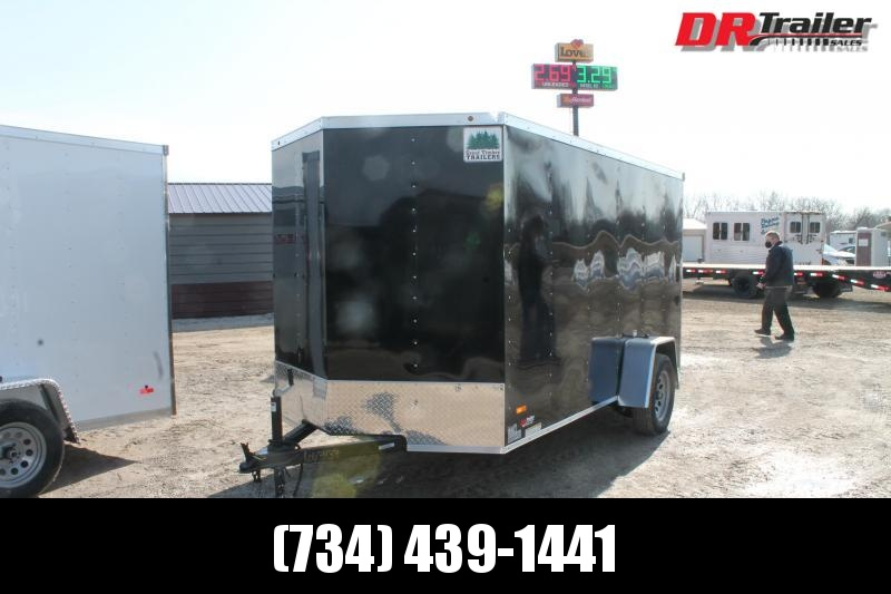 2021 RC Trailers 6' X 12' RD RGT Enclosed Cargo Trailer