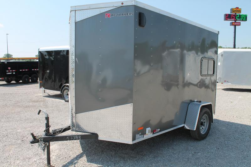"2020 RC Trailers 6' X 10' + 6"" Enclosed Cargo Trailer"