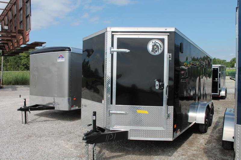 2021 Darkhorse Cargo 16' DD Enclosed Cargo Trailer