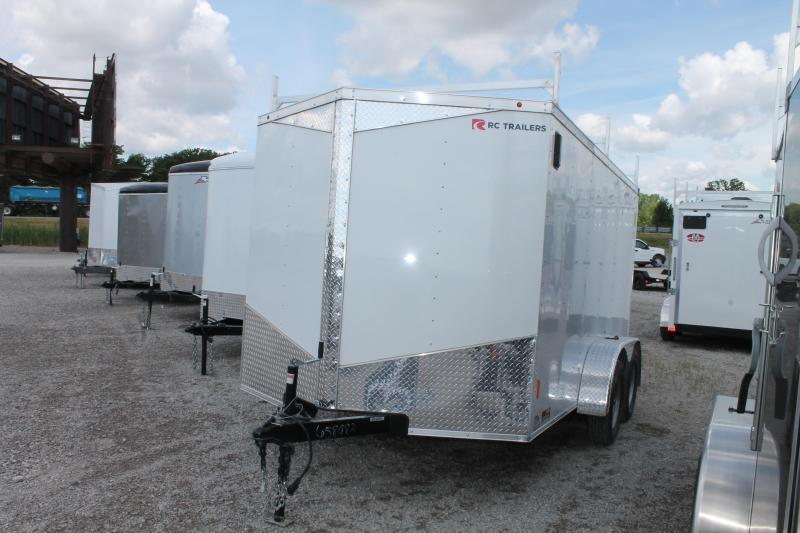 2020 RC Trailers 7' X 12' TA RD Enclosed Cargo Trailer