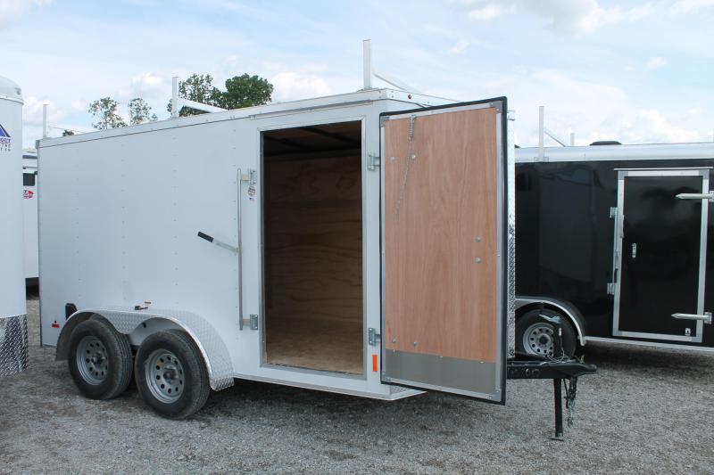 2020 RC Trailers 7' X 12' TA RD Enclosed Cargo Trailer