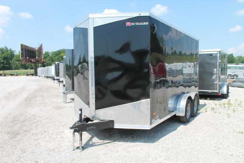 "2020 RC Trailers 7' X 14' + 12"" RD Enclosed Cargo Trailer"