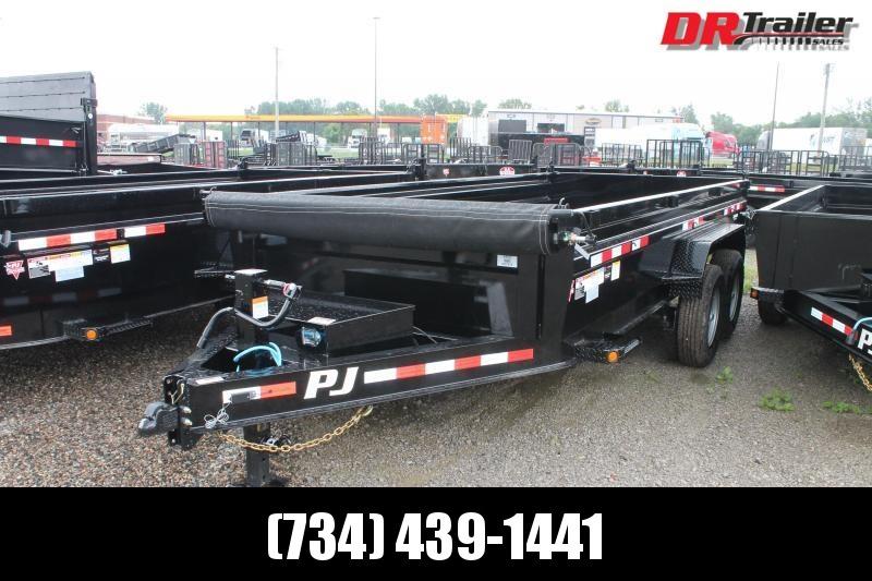 2022 PJ Trailers 16' DL 14K GVWR DUMP TRAILER Dump Trailer