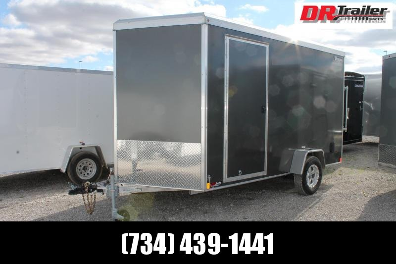 "2020 Triton 7' X 12' + 12"" RD Enclosed Cargo Trailer"