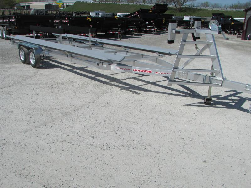 Wolverine Trailers Goat 24 Bunk Style Pontoon Boat Trailer