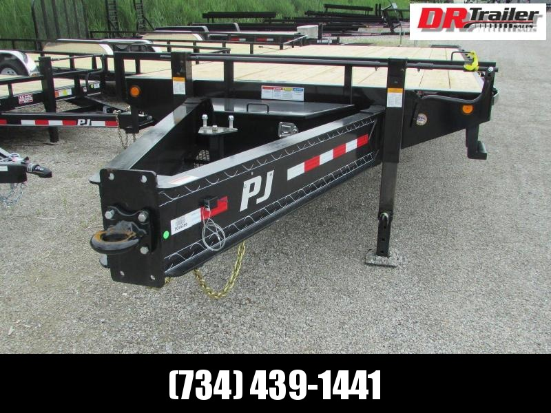 PJ Trailers Equipment Dually Pintle Flatbed Trailer