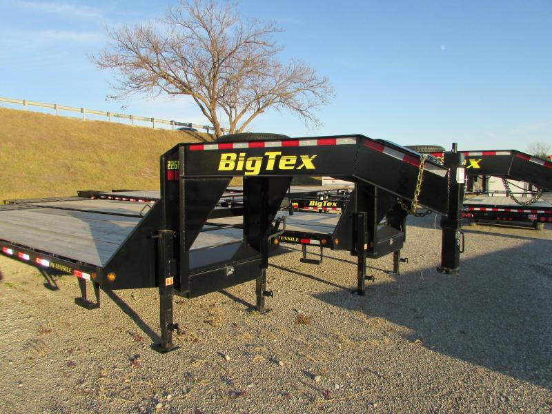 Big Tex Trailers 35 Flatbed Gooseneck Trailer