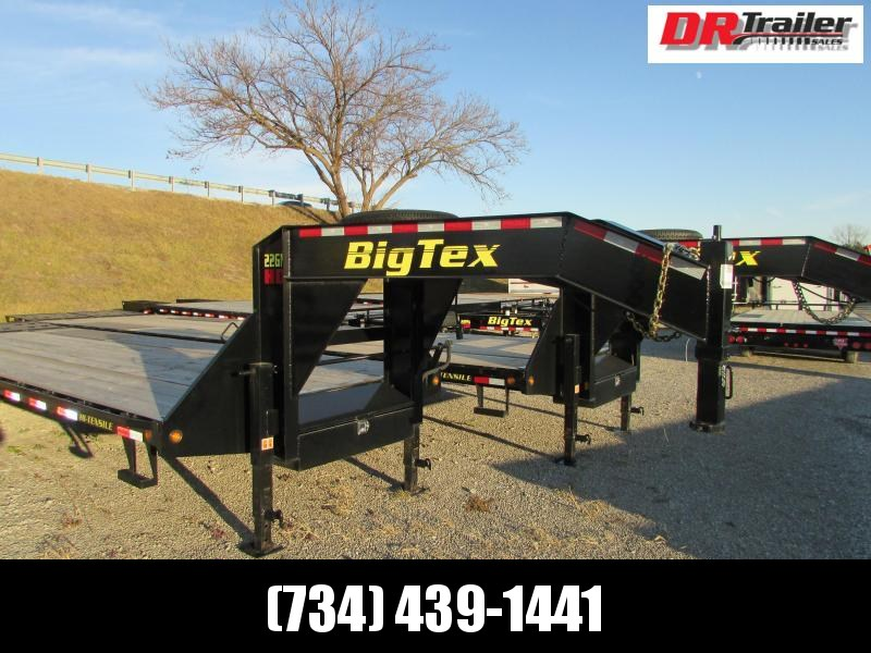 Big Tex Trailers 35 Flatbed Gooseneck Trailer