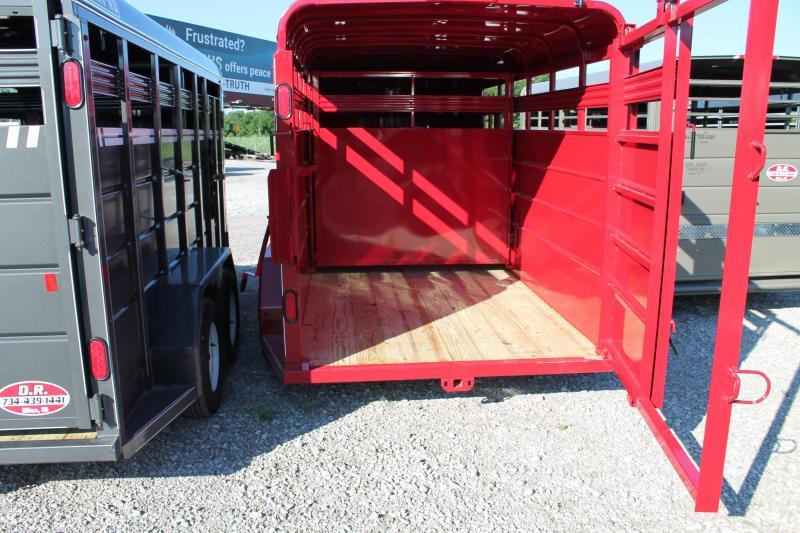 2020 CornPro Trailers 16' STOCK Livestock Trailer