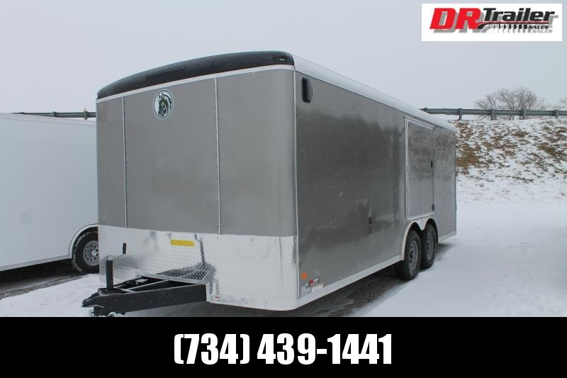 2021 Darkhorse Cargo 20' CAR RACING 10K Car / ENCLOSED Racing Trailer