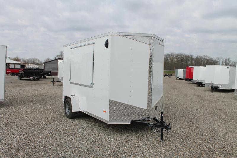 2021 RC Trailers 6' X 12' CONCESSION TRAILER Enclosed Cargo Trailer