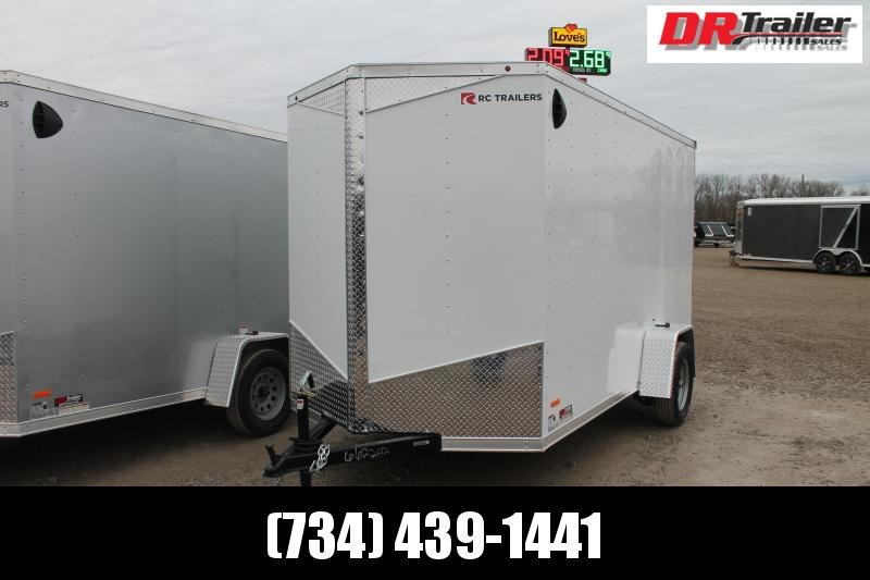 2021 RC Trailers 6' X 12' LX RD Enclosed Cargo Trailer