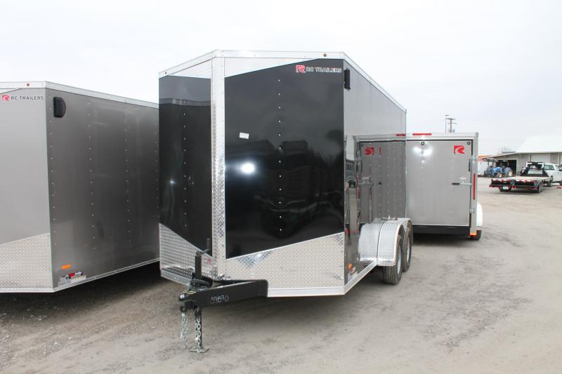 2020 RC Trailers 7'x14' + 12RD Enclosed Cargo Trailer