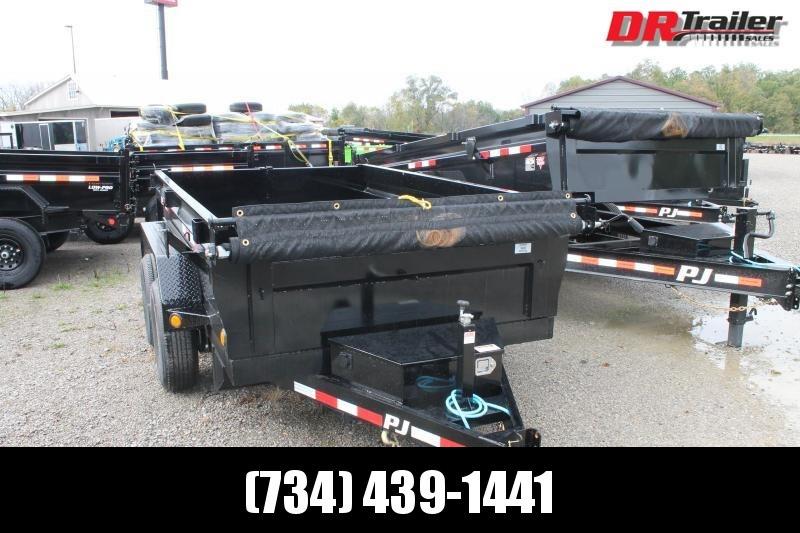 2022 PJ Trailers 10' D3 10K GVWR DUMP TRAILER Dump Trailer