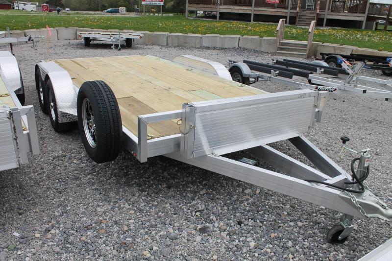 2021 Wolverine Trailers 16' CAR 7K GVWR Car / Racing Trailer