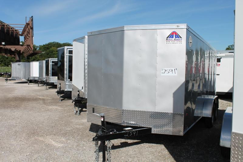 2020 RC Trailers 7' X 16' DD Enclosed Cargo Trailer
