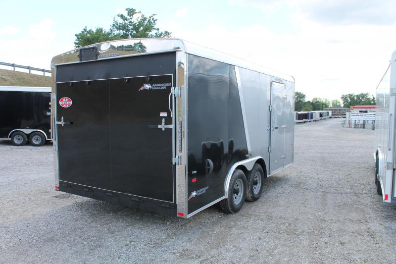 2020 American Hauler 8' X 16' 10K RD Enclosed Cargo Trailer
