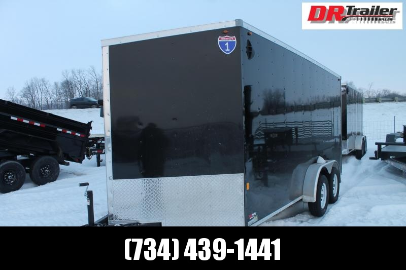 2021 Interstate 7' X 16' RD Enclosed Cargo Trailer