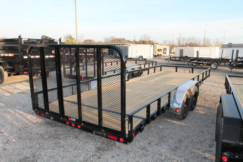 2021 PJ Trailers 22' RG 7K Equipment Trailer