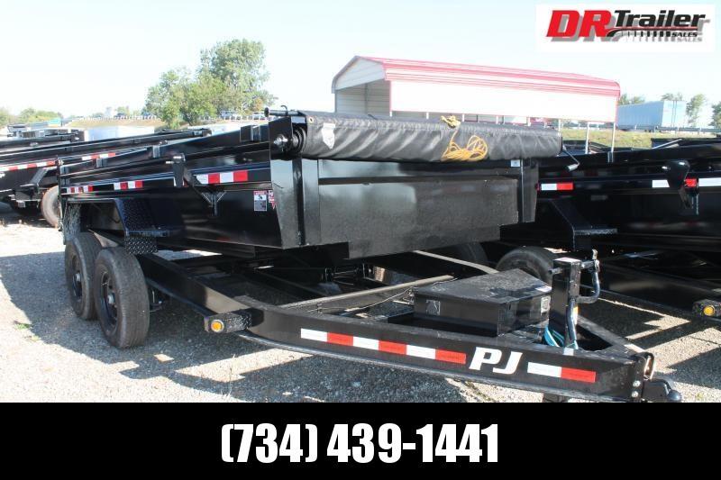 2022 PJ Trailers 14' DL 14K GVWR DUMP TRAILER Dump Trailer
