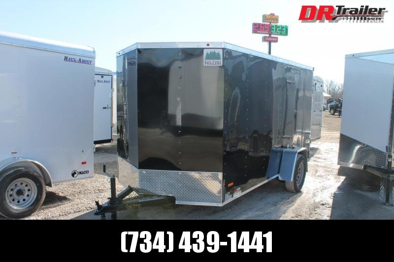 2021 RC Trailers 6' X 12' DD RGT Enclosed Cargo Trailer