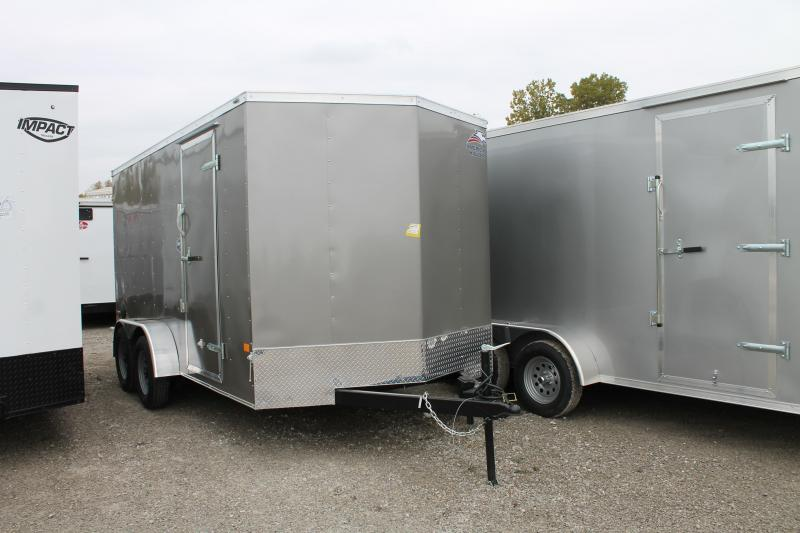 2021 American Hauler 7' X 14' RD TA Enclosed Cargo Trailer