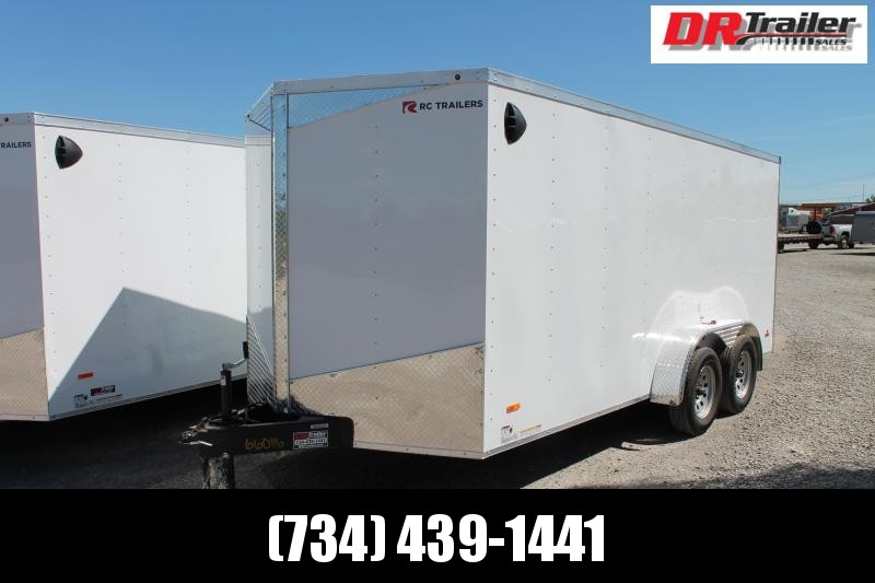 2021 RC Trailers 7' X 16' RD Enclosed Cargo Trailer