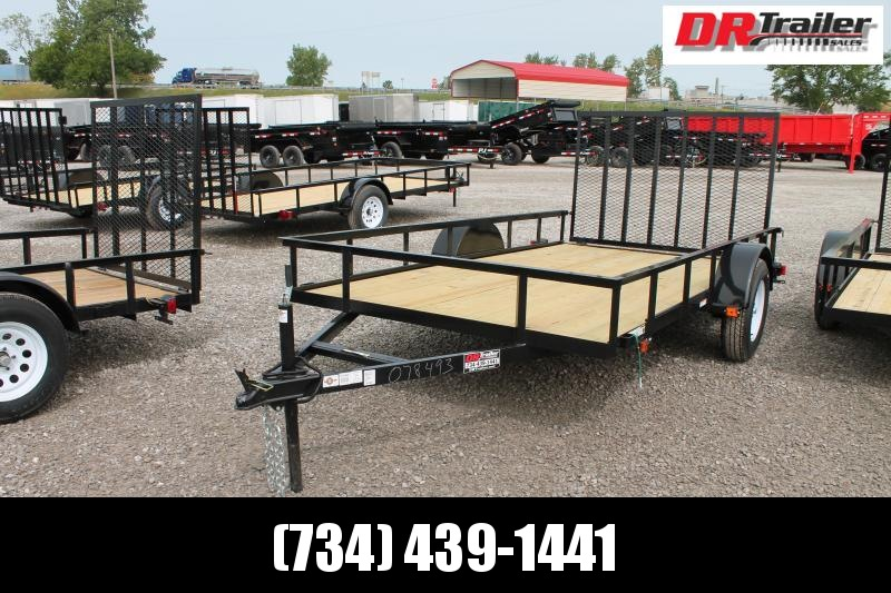 2020 Carry-On 6' X 12' RG Equipment Trailer