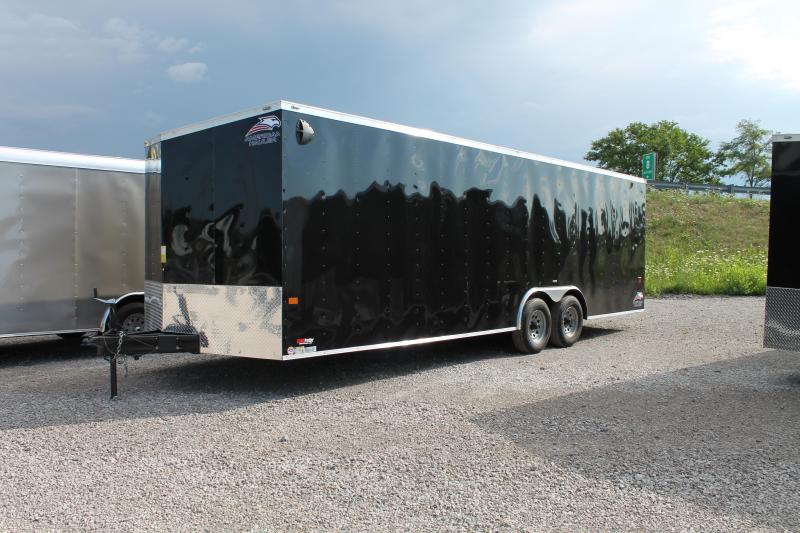 2021 American Hauler 24' 10K CAR Car / Racing Trailer